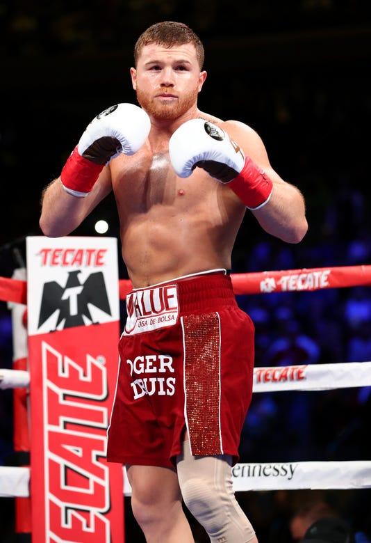 Canelo Alvarez V Rocky Fielding