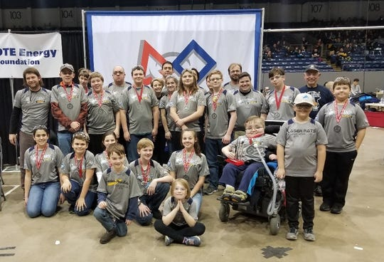 Algonac FTC Team 9819, the Robo Rats, will advance to the FIRST FTC World Championship in April 2019, alongside fellow Blue Water FTC Team 8845 Wild the Wild Bees.