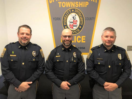 Springettsbury Township Police Department participated in No-Shave November for the first time this year, raising more than $5,000 to benefit local  people and organizations in the cancer fight.