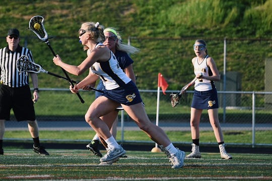 Eastern York's Addison Malone was named the co-Midfielder of the Year in the YAIAA by the coaches.