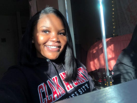 Sparks High grad Davi'Ana Marie Kirkland finished her first semester at Clark Atlanta University