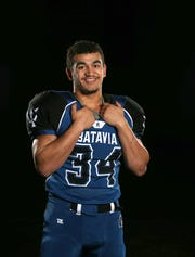 Batavia running back Ray Leach was  the 2018 All-Greater Rochester Football Player of the Year.