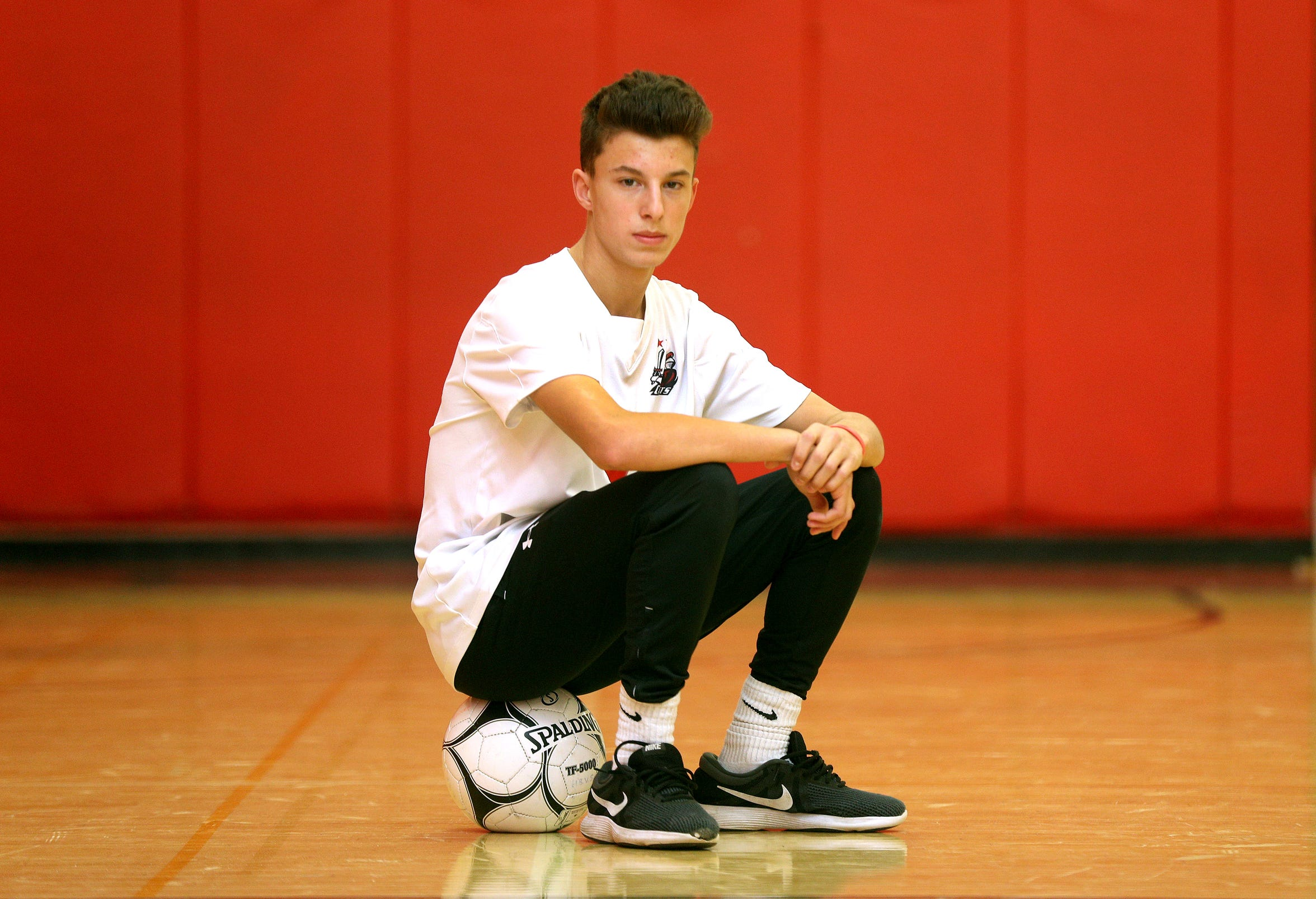 Hilton's Justin Arilotta is the All Greater Rochester boy's soccer player of the year.