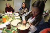 Rochester Public Market held their annual holiday cookie contest.  Here is a peek during the judging.