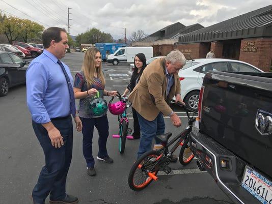 Ted Blankenheim's bike giveaway