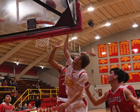 Palma forward Colin Neff (32) is the sole Chieftain to make the cut for the North-South All-Star Classic.
