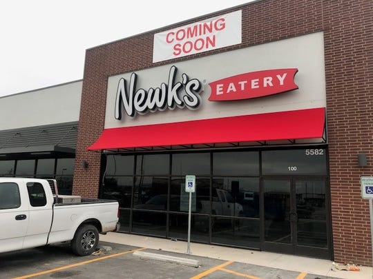Newk's Eatery has put its sign up at 5582 Sherwood Way, Ste. 100. Photo taken Monday, Dec. 17, 2018.