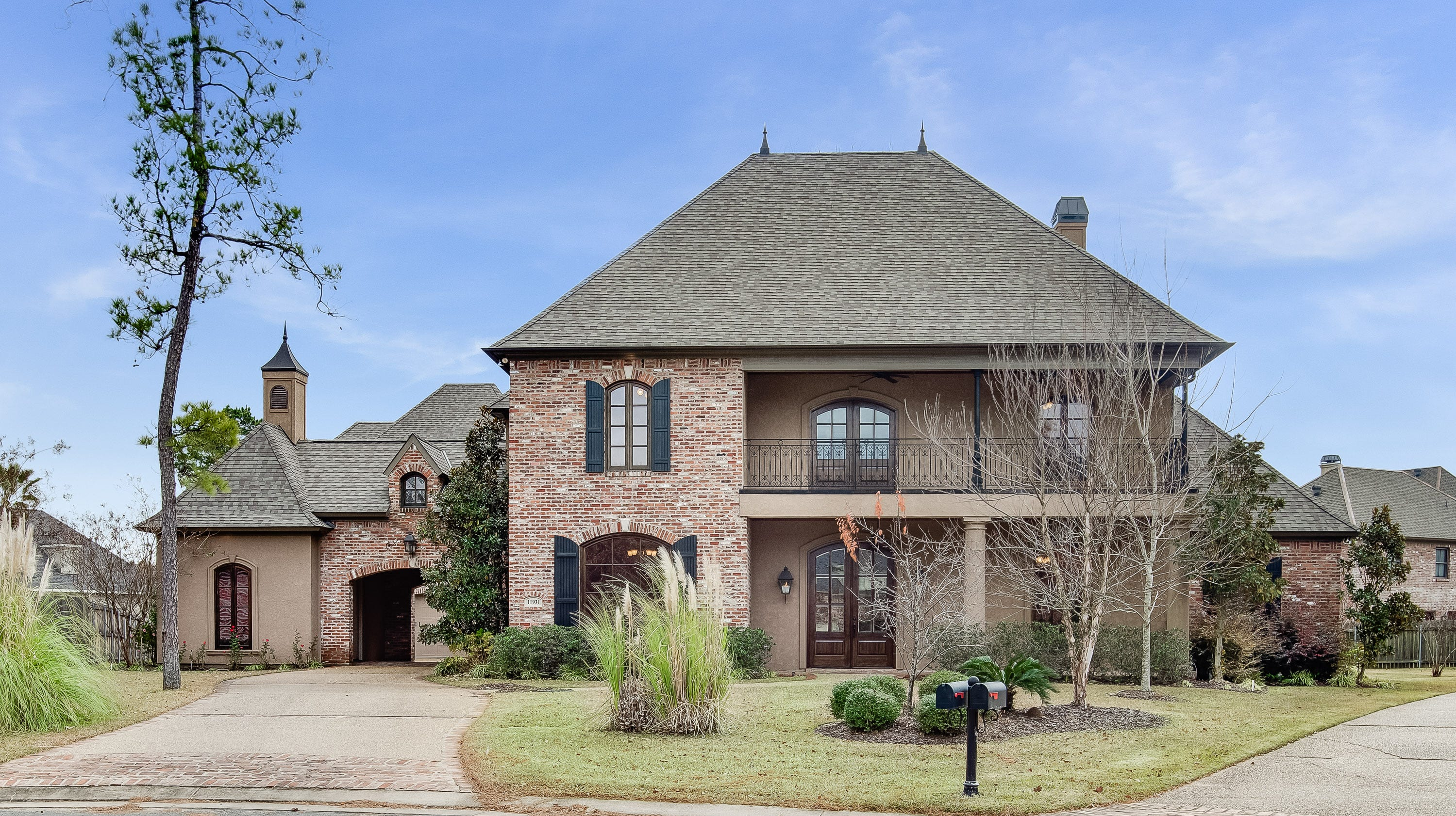 11931 Longfellow Circle in Shreveport's prestigious and gated Southern Trace is perfect for entertaining with 7,000 square feet.