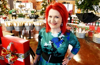 Skinny Louisiana's Shelly Marie Redmond shares gift ideas that can be found at Delish on Line.