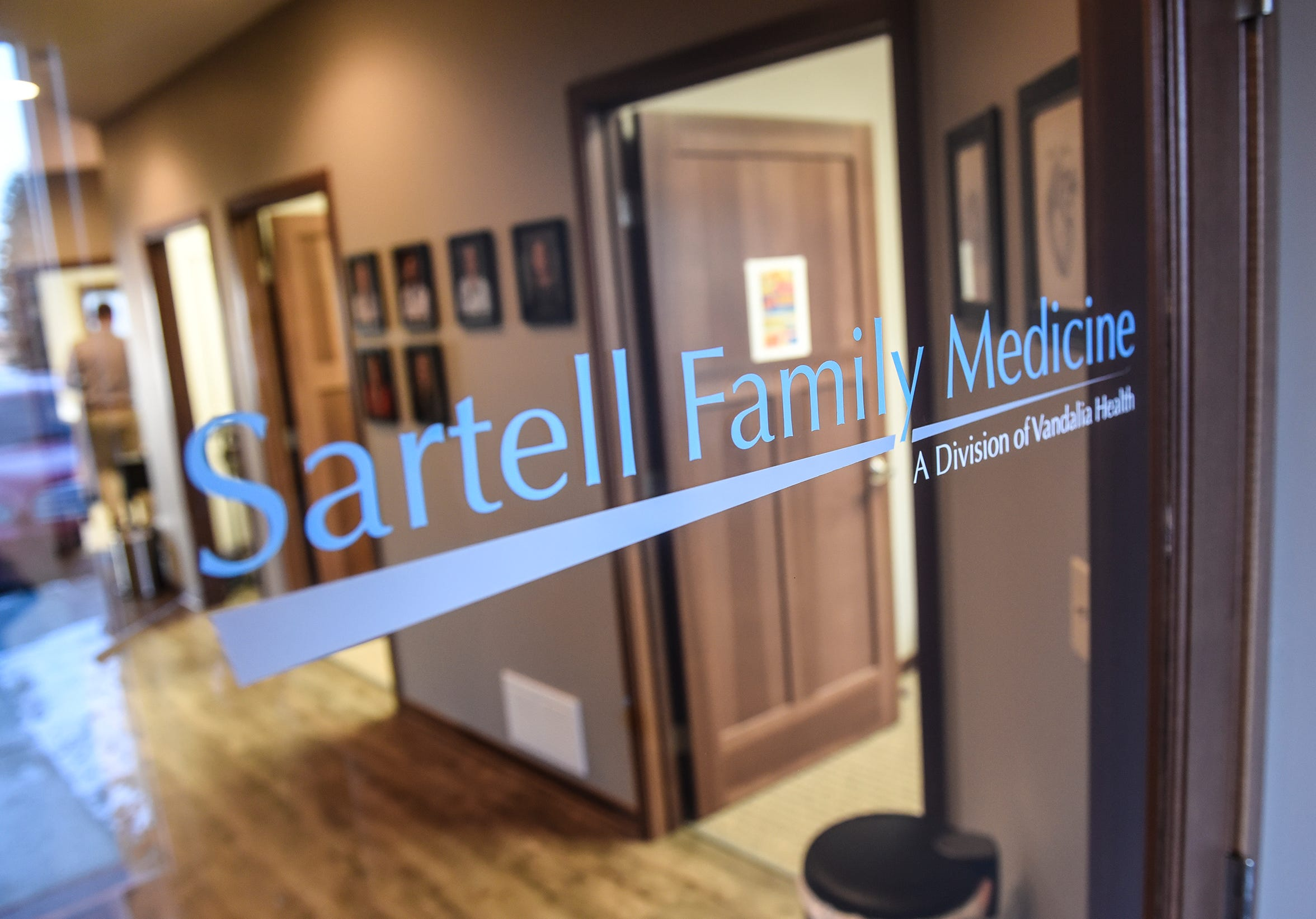 The entrance to Sartell Family Medicine in Sartell.