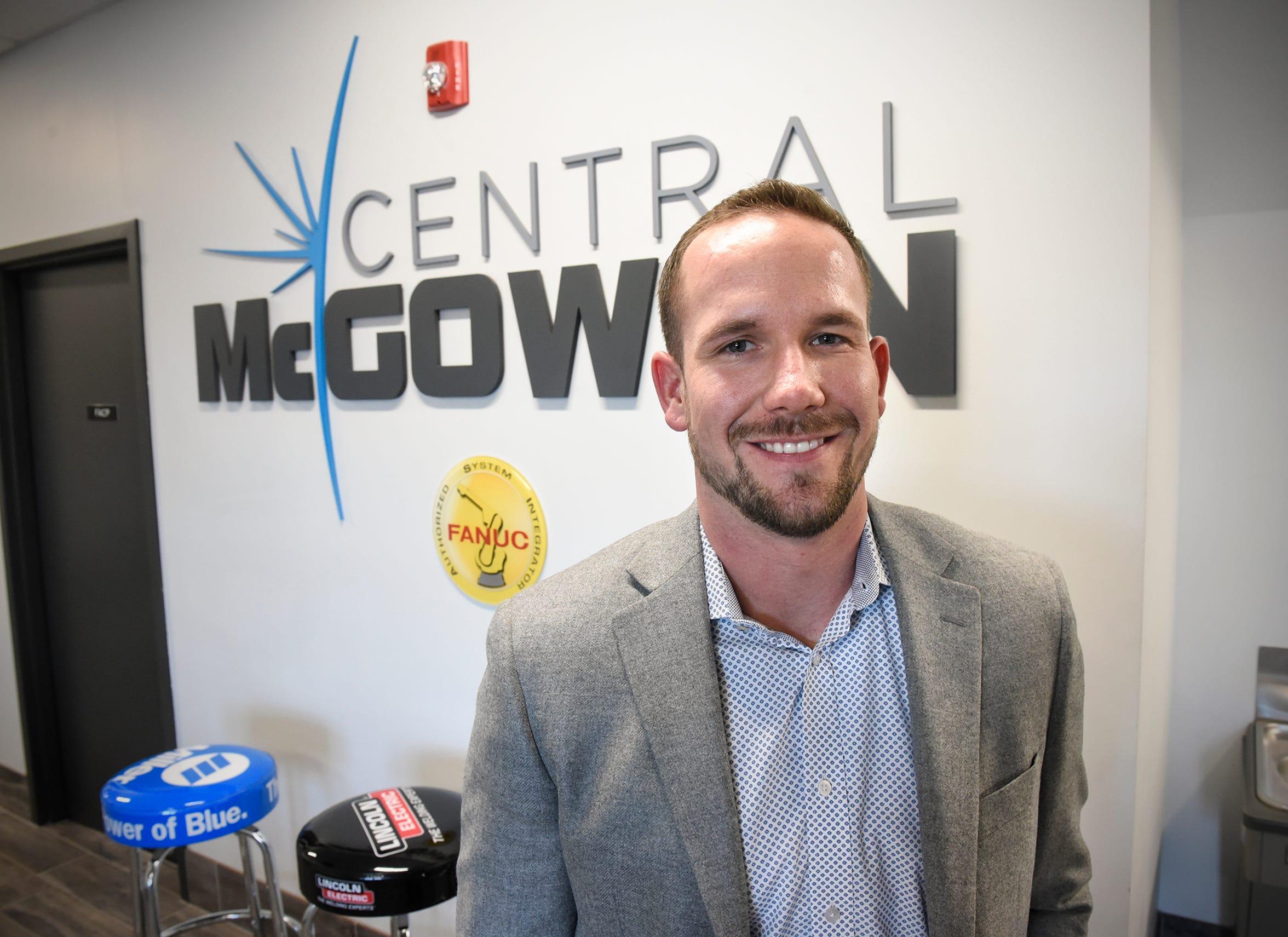 Central McGowan President and CEO Joe Francis smiles Thursday, Dec. 6, in St. Cloud.