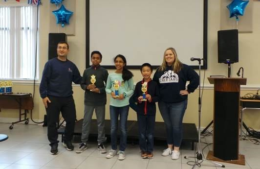 The annual Math Stars Competition at the Tallahassee School of Math and Science recognizes young mathematicians from schools across Leon County.