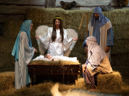 The 39th annual Outdoor Living Nativity at Indian River Presbyterian Church is 6-9 p.m. Saturday and Sunday at 2499 Virginia Ave., on the southeast corner of South 25th Street, Fort Pierce.