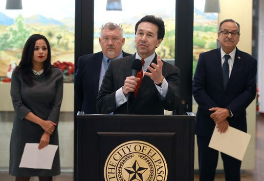 Borderplex Alliance CEO Jon Barela chastised President Trump in a series of angry tweets after Trump inaccurately characterized El Paso as a once dangerous city saved by a border barrier.