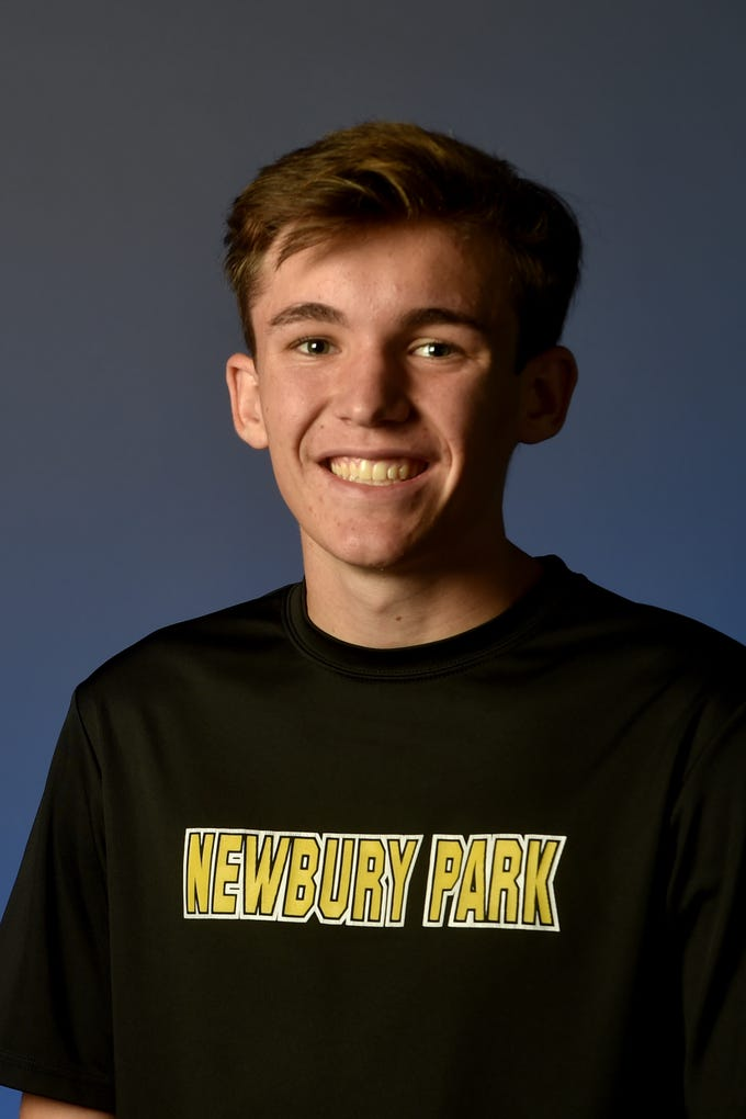 "JACE ASCHBRENNER, Newbury Park: The junior was one of the top runners for a deep and talented Newbury Park team, which won the Marmonte League and its first sectional and state titles. The all-league first-team selection took second place at the league finals in 14:50.1, was fourth at the CIF-SS Division 2 finals in 14:42 and placed 15th in 15:35.8 at the Division II state meet to score key points for the Panthers' title-winning performances. Aschbrenner also placed 66th (15:53) at the Nike Cross Country Nationals to help Newbury Park finish sixth as a team. The scholar-athlete lists photography, hiking and getting food with friends as his top hobbies. His favorite movie is ""Tropic Thunder"" and his favorite TV show is ""Survivor."" He listens to the band AJR, enjoys MOD pizza and roots for American distance runner Matthew Centrowitz. His favorite team is the Purdue cross country team, which he points out ""came out of nowhere, kind of like our team."""