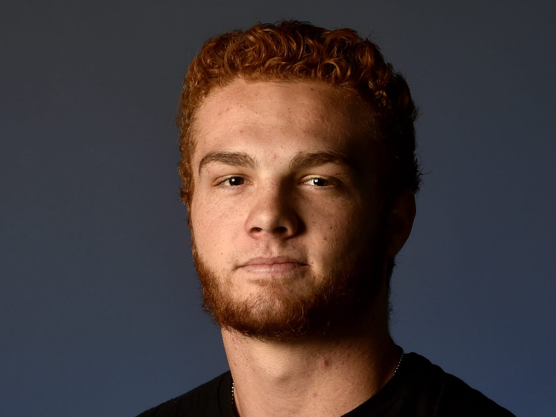 """JADON CLINE, Ventura, Linebacker: On a roster devoid of seniors, the 6-foot-1, 190-pound junior stepped forward as a leader on both sides of the ball. The first-team All-Pacific View League linebacker had 44 tackles and four tackles for a loss. As an H-back and a slot receiver, he rushed for 152 yards and two touchdowns and caught 18 passes for 207 yards and three TDs. He had six catches for 64 yards and a key score in the upset 20-17 win at Buena. Cline enjoys working out, """"fixing stuff,"""" camping and surfing. He enjoys watching """"The Big Bang Theory,"""" and eating """"anything."""" His favorite athlete is Phillip Lindsay and he roots for the Denver Broncos."""