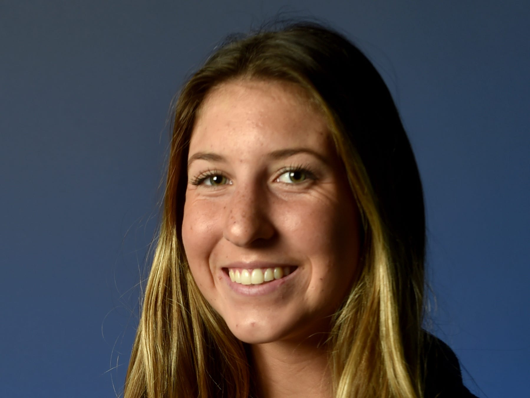 CALISTA WRIGHT, Grace Brethren, Middle blocker: CIF-Southern Section championships don't happen without a dynamic hitter, and the 5-foot-11 junior filled that role for the Lancers. Even on a balanced lineup, Wright stood out. She piled up 285 kills, 45 blocks and a kill percentage of 46.3 percent to help spark Grace Brethren to the Division 6 championship. She also notched 185 digs and 45 service aces. Her exploits earned her Player of the Year honors in CIF-SS Division 6. Already committed to Pepperdine, she's sports a 4.0 GPA and is a member of the California Scholarship Federation. She said beach volleyball and painting are her favorite hobbies and Kerri Walsh is her favorite athlete.