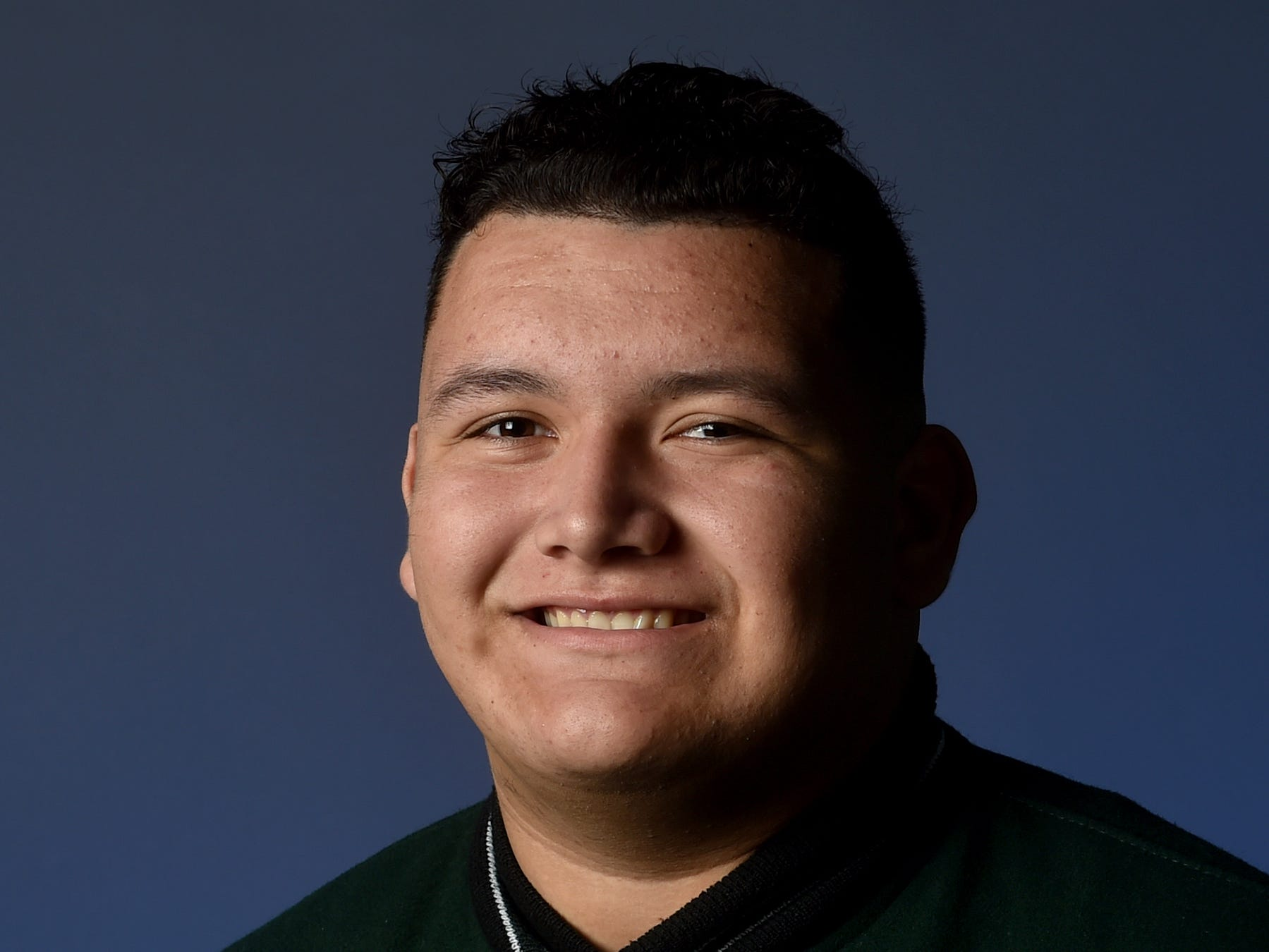 ARMANDO SIFUENTES, Pacifica, Offensive line: No matter which side of the football he played, the 6-foot-3, 300-pounder was a fearsome force. On offense, the left tackle helped power a unit that averaged 293.3 rushing yards and 165.3 passing. On defense, the defensive tackle was the anchor, collecting 54 tackles, two sacks and six tackles for losses. The senior was honored as the Offensive Lineman of the Year in the Pacific League and a first-team member of the coaches all-county team. He owns a 3.5 GPA and is considering Wyoming, Southern Utah and Sacramento State for his college destination. His favorite teams are the Dallas Cowboys and Ohio State. Hiking, fishing and playing chess are his hobbies.