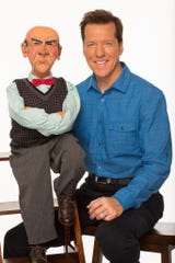 Ventriloquist Jeff Dunham, shown here with Walter, will be at the Thousand Oaks Civic Arts Plaza on Dec. 22 with his friend and neighbor, Howie Mandel.