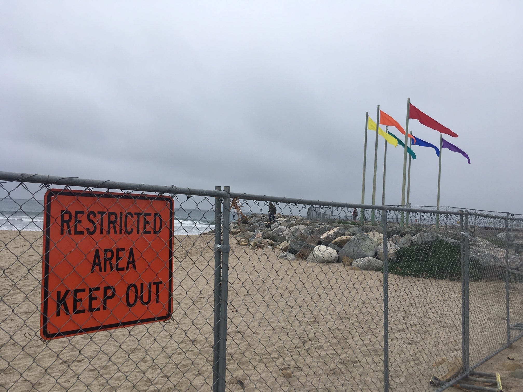 Port Hueneme's getting an infusion of sand thanks to an Army Corps of Engineers dredging operation.