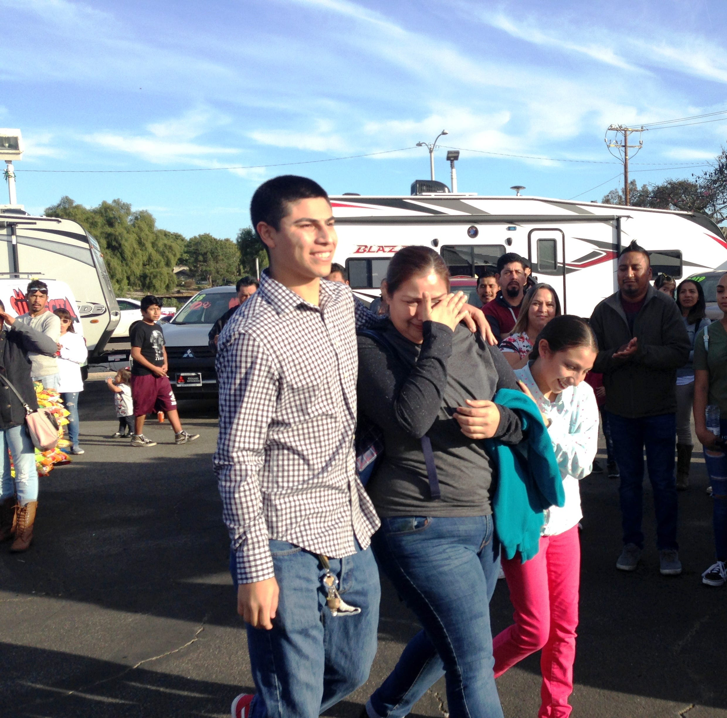 Hardworking Oxnard mom surprised with refurbished SUV from DRAGG