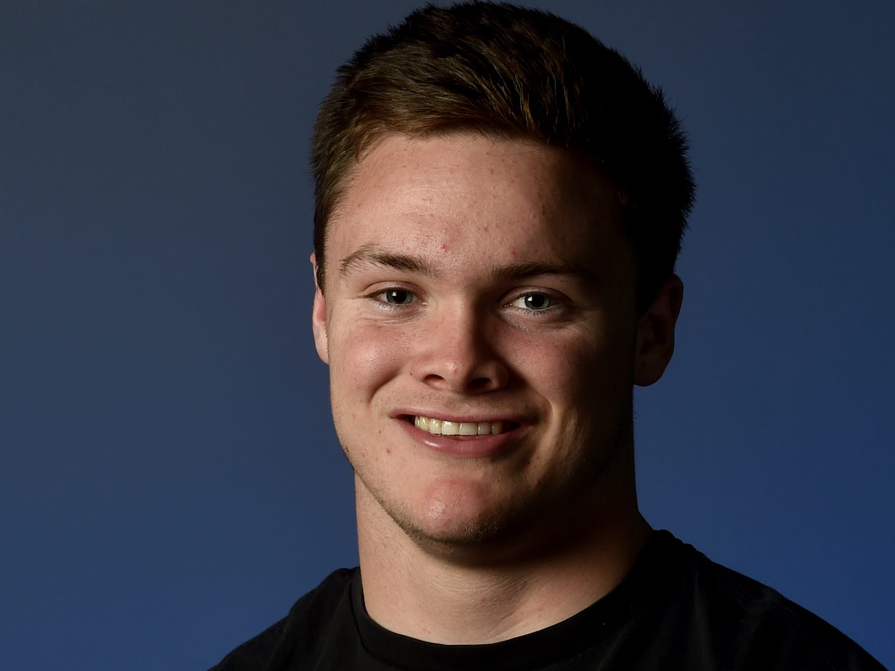 """BLAKE KYTLICA, Rio Mesa, Linebacker: The 5-foot-11, 200-pound senior was a physical player on both sides of the ball for the Spartans. The first-team All-Pacific View League and All-County Coaches linebacker had a team-high 104 tackles, 16 tackles for losses, six sacks, two forced fumbles and a fumble recovery. He had a season-high 14 tackles and four tackles for a loss against Buena. Offensively, as a short-yardage back, he had 206 yards and four TDs rushing. He enjoys surfing, watching """"The Office"""" and eating burgers. His favorite athlete is J.J. Watt and he roots for UCLA."""