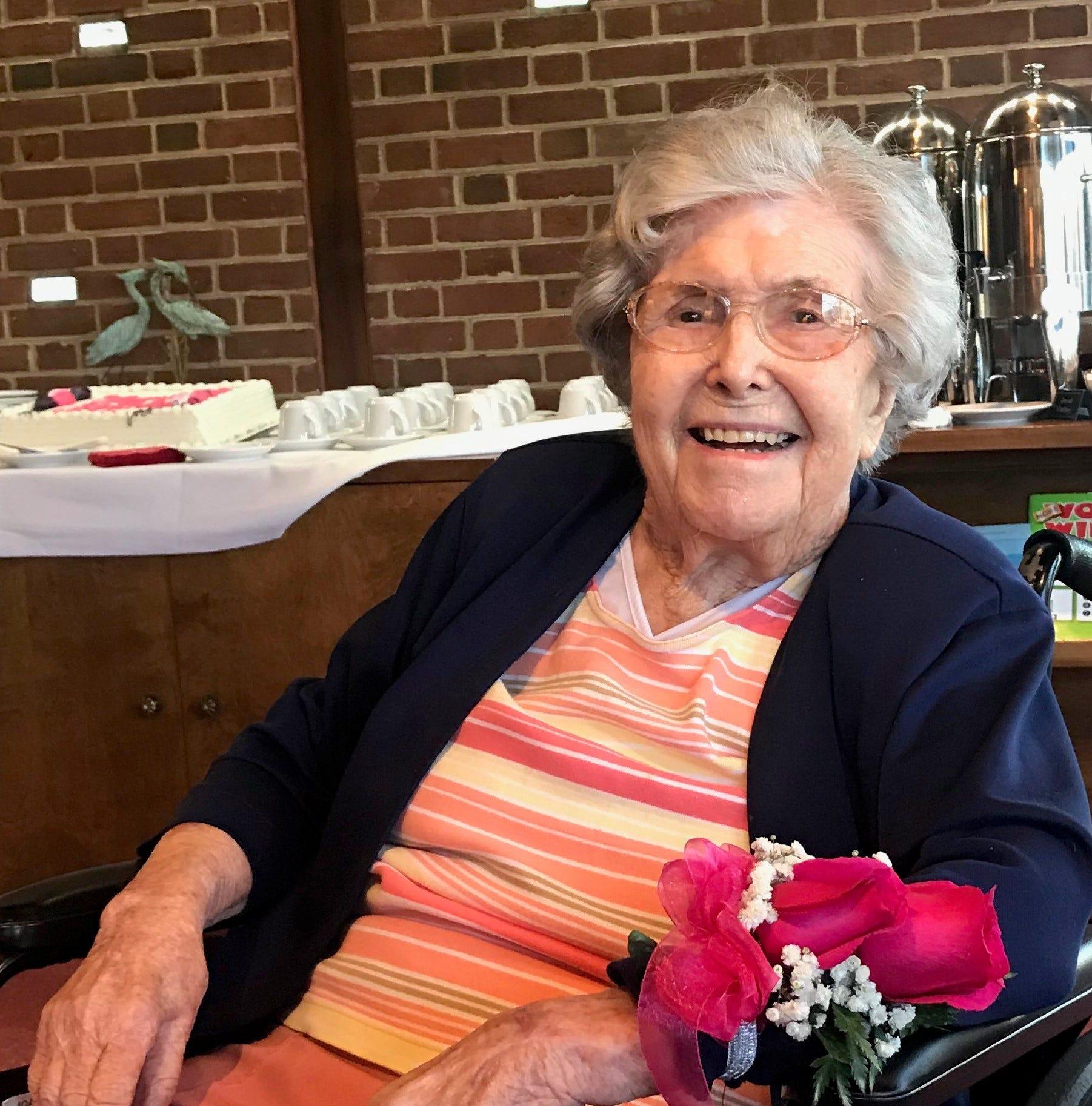 Happy 101st Birthday to Hilda Joyce Hoffman