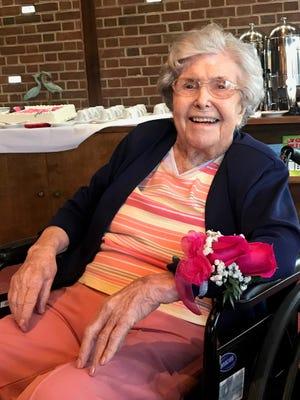 Hilda Joyce (Evans) Hoffman of Vineland celebrated her 101st birthday on Dec. 5.