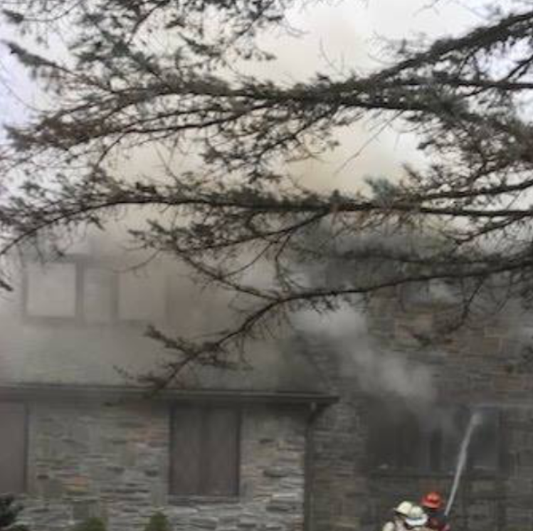 Firefighters respond to house fire in Ramapo