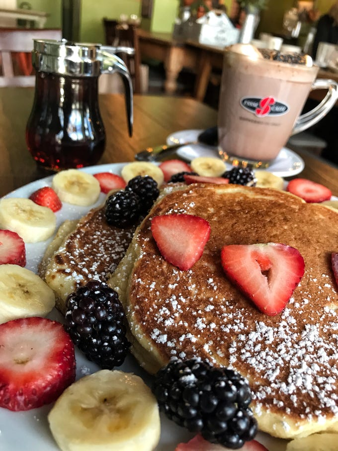 Paleo Pancake at Stan'z Cafe in Larchmont.