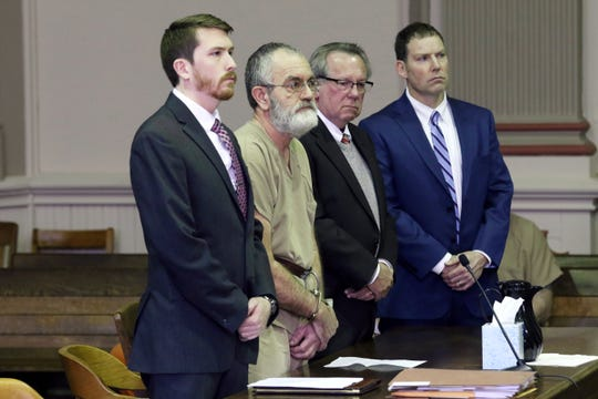Timothy Hartmeyer was sentenced to nine years in prison for several counts related to child pornography during a hearing in Muskingum County Common Pleas Court on Monday.