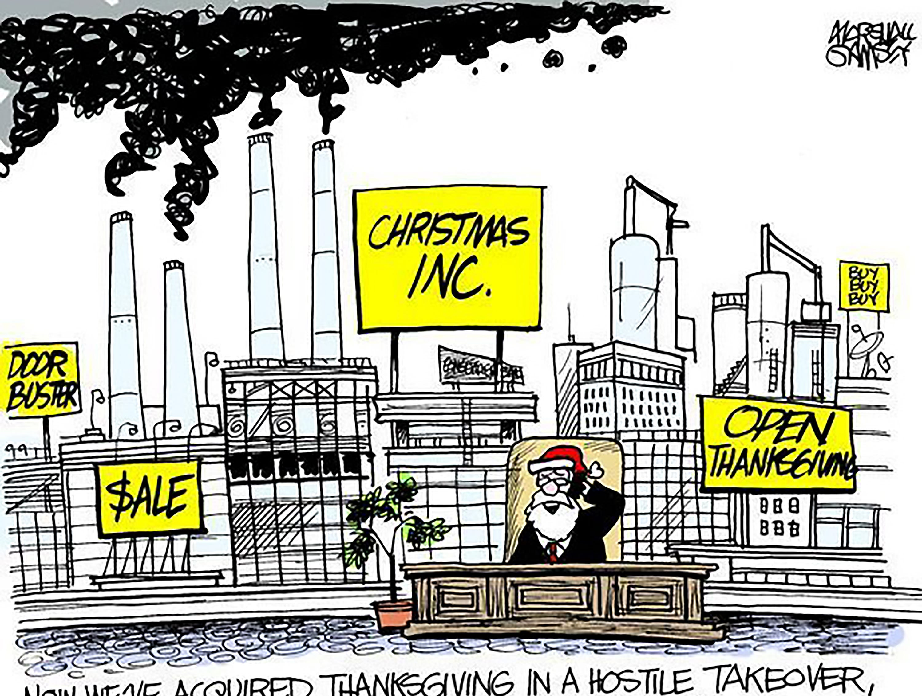 Originally published in November2013. The cartoonist's homepage, clarionledger.com/opinion