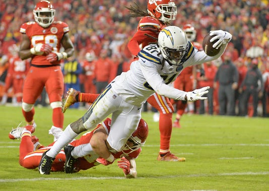 Usp Nfl Los Angeles Chargers At Kansas City Chief S Fbn Kc Lac Usa Mo