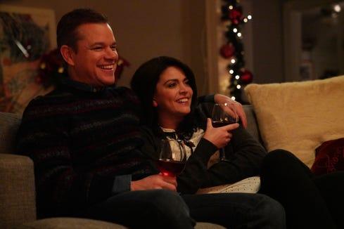 Matt Damon Snl Christmas.Snl Skit With Matt Damon Nails What Christmas Is Like For