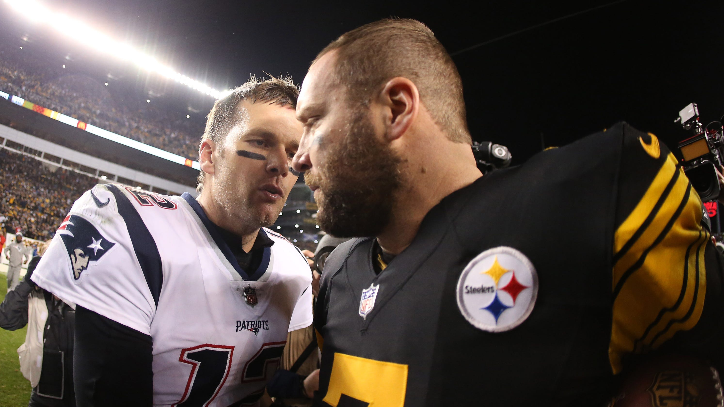 76ed0dc1401 Pittsburgh Steelers make statement by closing out Tom Brady, Patriots