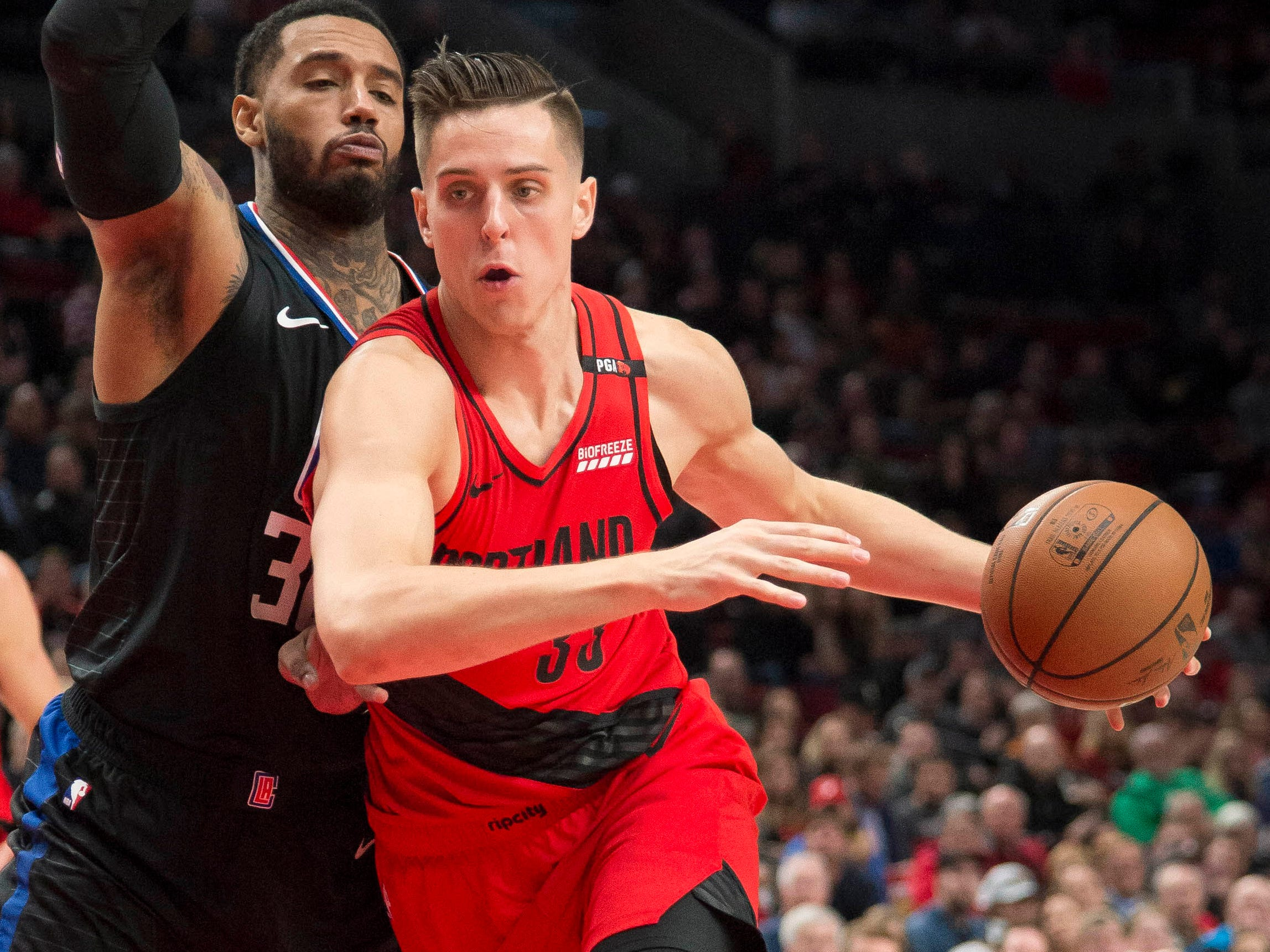 Zach Collins, Portland Trail Blazers — 21 (born 11/19/1997)