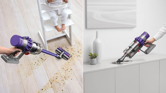 Get the clean-freak on your list a top-shelf Dyson vacuum they'll love.