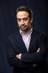 """""""They created a bespoke suit,"""" Lin-Manuel Miranda says of having his """"Mary Poppins Returns"""" music written for him. """"And my job was to make it look good."""""""