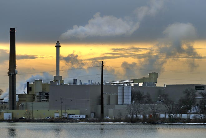 The former Appleton Coated mill in Combined Locks is now called Midwest Paper Group.