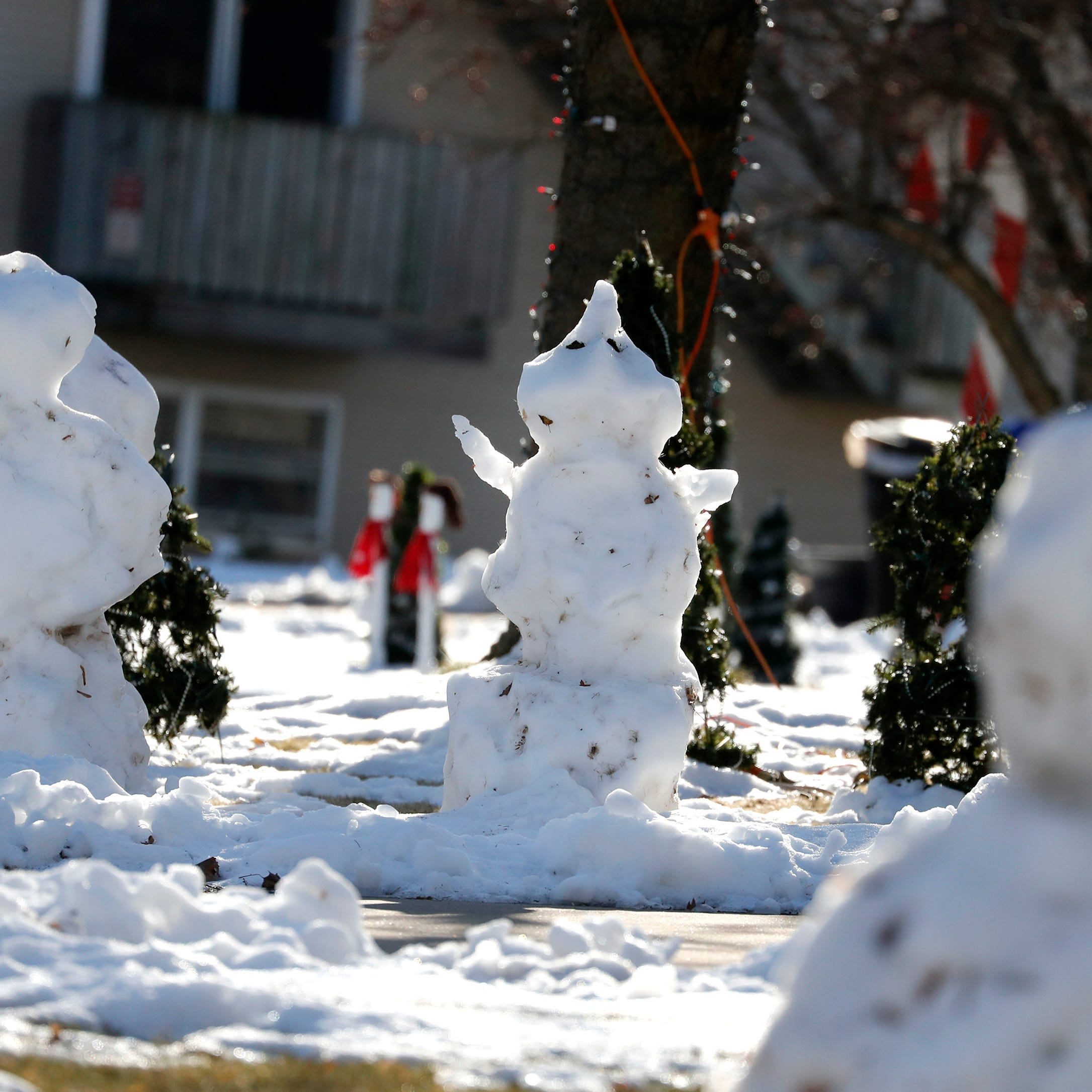 Baby, it's not cold outside: Mild weather puts kibosh on white Christmas in Wisconsin