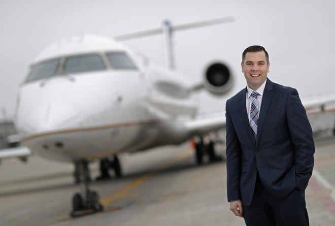 Appleton International Airport Director Abe Weber oversaw big growth and investment at the airport in 2018.