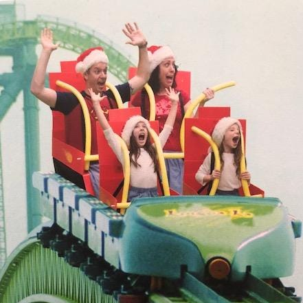 Marlboro mom of two turns Kingda Ka nightmare into Christmas card