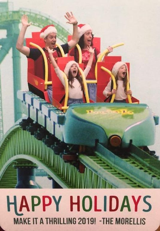 Kingda Ka Christmas card