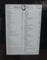 Uncle Tony's, located on 79 State Street in Binghamton, has served up food and drinks since 1983.