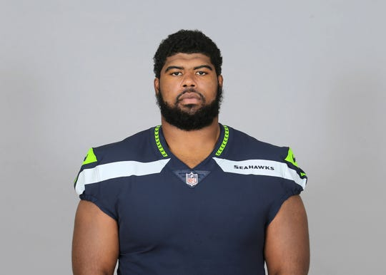 "Jordan Simmons was the Seahawks' first choice to replace D.J. Fluker, but he suffered what the team called a ""significant"" knee injury against the 49ers."