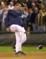 Lou Piniella was known for throwing bases and kicking hats during his time as the manager of the Mariners.
