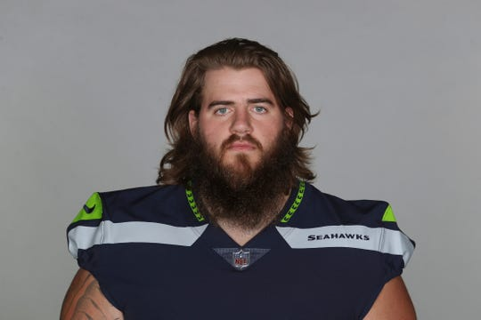Jordan Roos has spent this season on the Seahawks' practice squad, but could get the call this week against the Chiefs.