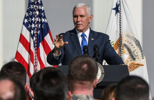 Mike Pence Visits Kennedy Space Center