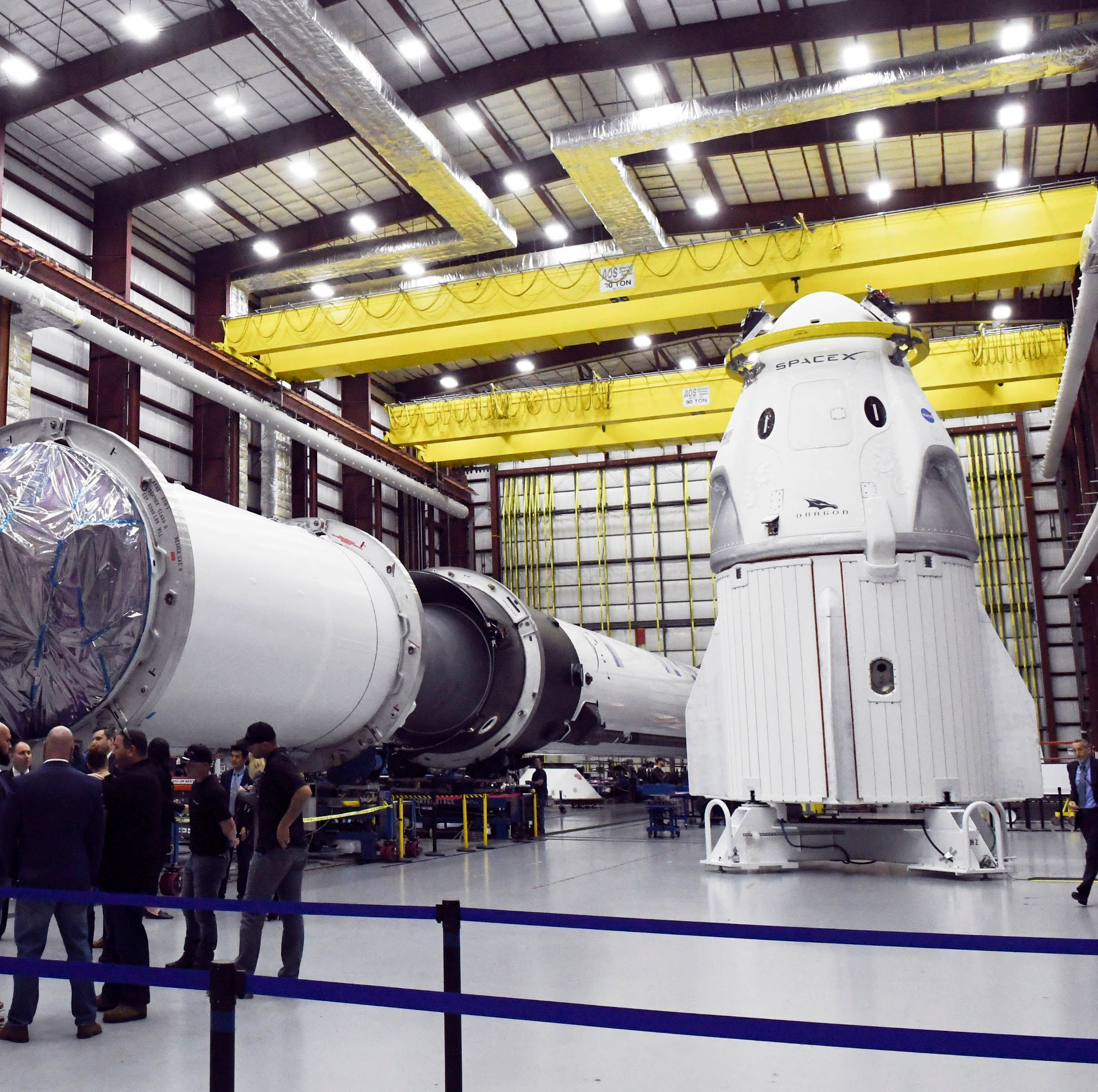SpaceX test flight: Kennedy Space Center offers VIP viewing