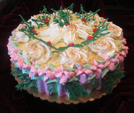 2018 Eggnog Mousse Cake Crop